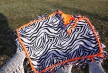 Handmade Baby Fleece Blanket / by Ruby Baxter