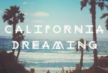 "California Dreamin' ♡ / The Golden State: Cali', Sunshine, The Beach, The ""HOLLYWOOD"" sign, Oh my... ♥"