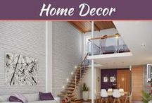Home Decor Tips / Tips and suggestions help you make wonders. Make your home and office a wonderful living space with My Decorative tips and suggestions to enhance, beautify and better functional homes and offices. Effective interior designing tips, interior décor ideas and home and office interior and exterior designs.