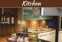 Kitchen Designs / Here we share pins about latest kitchen decor and dining room design ideas.