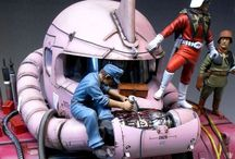 Amazing Gunpla / Amazing Gundam plastic model kits for reference and inspiration.