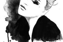 ART AND FASHION ILLUSTRATION WE LOVE / All things arty that we love!