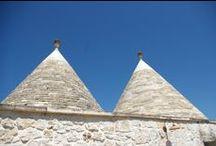 Trulli in Puglia / Trulli diversi