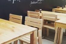 Sillas LUFE / Sillas LUFE de madera maciza a muy buen precio y fácil montaje. Muebles personalizables gracias a diferentes accesorios y acabados. #MueblesLUFE #MueblesDeMadera #Silla #Sillas