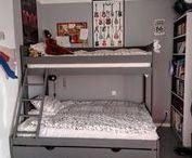 Litera TRIOLO / Litera TRIOLO una solución versátil y funcional para el cuarto de los niños o para una habitación de invitados.