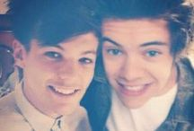 "❤️ Harry N' Louis ❤️ / I WAS GONNA SAY, ""I DON'T SHIP LARRY"", BUT COME ON ! THEY ARE CUTE AS F#@K !!!! I DON'T CARE WHETHER THEY ARE JUST BEST MATES OR LOVERS, I'M GONNA SHIP THEM HARD ❤️❤️❤️"