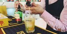 Cocktais com Licor Beirão / O Licor Beirão é o licor de todos os portugueses. Para além do clássico copo com gelo e limão, pode ser saboreado de diversas outras formas. Para mais informações: http://www.licorbeirao.com/pt/cocktails/ #licorbeirao #bebidas #cockatils #receitas