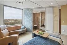 Patient rooms / by Healthcare Design Magazine