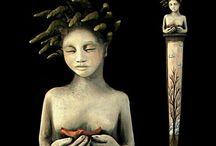 Dolls & Figurative Sculpture / . / by Diane Stauffer