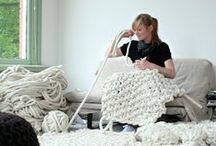 Knitting and crochet / by Marzia Piccinini