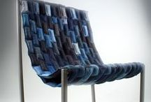 Denim , old jeans recycling / by Marzia Piccinini