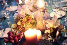 D i n i n g: candle lit / by Heidi D
