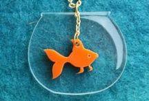 Acrylic Jewelry/Design / All about acrylic cut jewelry & acrylic design!