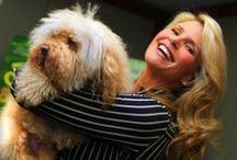 Pets and their Celebrities / Our pets tend to steal the show - looks like celebrities' pets are no exception!