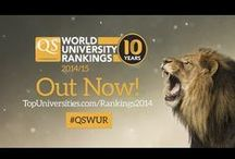 QS World Uni Rankings 2014/15 / Welcome to the QS World University Rankings® 2014/15. Explore the world's top universities now. #QSWUR