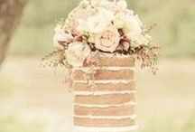 WEDDING CAKES / RUSTIC WEDDING CAKES, SIMPLE WEDDING CAKES, CAKES