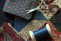Needle Cases / Make a needle case from a pattern in one of my books