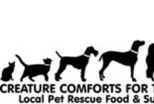 Creature Comforts for the Holidays / Our annual food and supplies drive to support local rescue and animal welfare groups