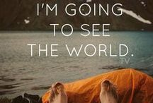 Travel quotes / #Quotes to inspire you and motivate you for further travelling.  #inspiration #travel #wanderlust