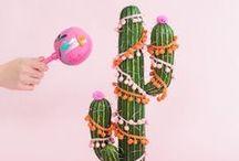 cactus / El cactus en imágenes, ilustración, moda, deco...