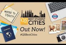 QS Best Student Cities 2016 / Explore the world's leading urban destinations for international students, with the latest edition of the QS Best Student Cities. This annual index assesses cities in five key categories: university rankings, student mix, desirability, employer activity and affordability. #QSBestCities
