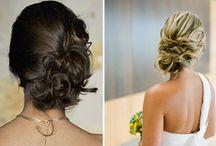 Penteados presos e soltos... / para cabelos longos, médios ou curtos...