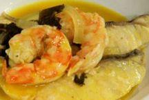 Receitas com peixes e frutos do mar / by Monica Bedoni