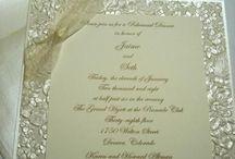 Convites: Monogramas... tipos de letra... papéis... novas idéias...