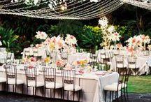 Garden Weddings / Some fun ideas we found around Pinterest for that intimate garden wedding!