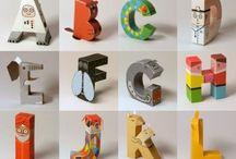 Alphabet / Interesting alphabet ideas...