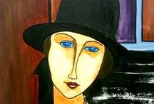 Modigliani / My exploration of the artist's work.