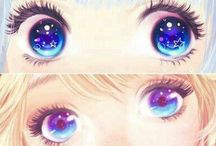 ღ❃Anime Eyes❃ღ / Animes eyes! You can draw them or just post pictures! If you do draw don't be rude or unkind to other people's art. Add people too