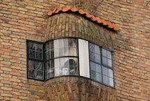 Amsterdam School - architecture / (Dutch: Amsterdamse School) a style of architecture 1910 -1930