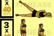 Exercices physiques / exercices physique simple pour faire du sport dans le confort de votre maison et perdre du poids