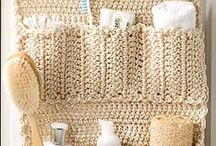 crochet home decor / everything for home knitted with crochet