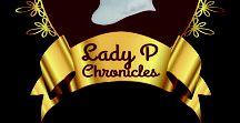 The Lady P Chronicles / The Lady P Chronicles book series of Regency time travel romances by Susana Ellis