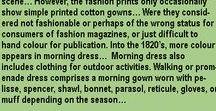 Regency Ladies' Fashion / Fashion