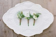 to wear / Wedding flowers to wear, boutonnieres, hair flowers, corsages, and head wreathes