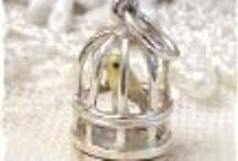 Classic Prized Charms / Add a little enamel, or movement to a charm, and you really have something prized and collectible.  Most of the charms we sell are proudly made right here in the USA.   Come see us!  We are a PIN Friendly website and you are welcome to pin from it.  www.RoseBlossomCottage.com