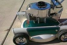 Custom Lawn Mowers / You won't believe some of these crazy custom lawn mowers! Share photos of your projects with us on our Facebook timeline: www.facebook.com/smallengineparts