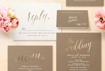 Stationary Graphic Design Invitation / Inviti originali - Stationary - Graphic Design & Invitation Wedding & Events