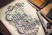 Typography  / Typography that I love