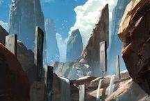 Landscapes & Scenery Concept Art