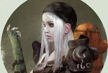 SF Character Concept Art / Science Fiction Concept Art