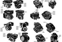 Engine Model Numbers / The no. 1 problem everyone seems to have is how to find model numbers for their lawn mower and snow blower engines. Use these quick guides to locate the numbers on your Briggs, Tecumseh, Kohler and other engines. Order parts now: 800-236-2333