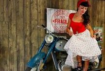 I  Love Retro / Retro style, pin up, old school.