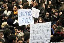 #JeSuisCharlie / Suite aux attentats commis en France, j'ai décidé de créer un nouveau tableau, témoin de cette période historique en France...