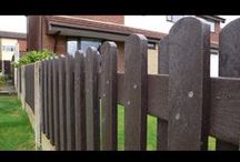 Videos on Recycled Plastic Fencing / Housing stock avoids the run down look  Recycled plastic fencing panels will never rot - last at least 5 times longer than treated timber Do not require regular painting or preservatives Do not warp, crack or splinter Cannot be kicked through Graffiti wipes off with normal household cleaners or WD40.  Case Studies show an annual saving of around 80%