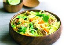 Hoofdgerechten | Gezond eten / Of je nou zin hebt in een gezonde ovenschotel, curry, maaltijdsalade of pasta, wij hebben het recept voor jel