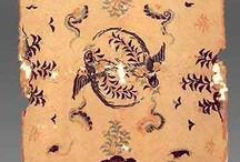 Mongol fabrics / Tapestries and fabrics, or just patterns